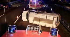 Verkehrsunfall Autobahn 8 Burgau