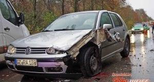 Verkehrsunfall B300 bei Krumbach
