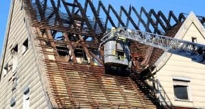 Brand Lauingen in ehemaliger Asylunterkunft