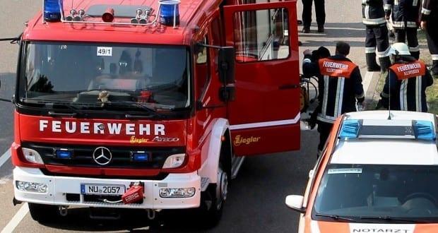 Feuerwehr Illertissen und Notarzt