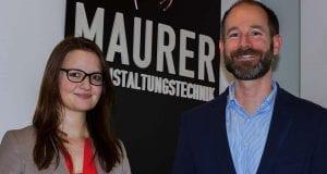 Maurer Veranstaltungstechnik und Ronja Kemmer