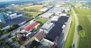 Steigtechnik Günzburg Luftaufnahme