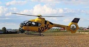 Rettungshubscrhauber Augsburg ADAC