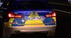 Autobahnpolizei Dunkel Polizei Nacht