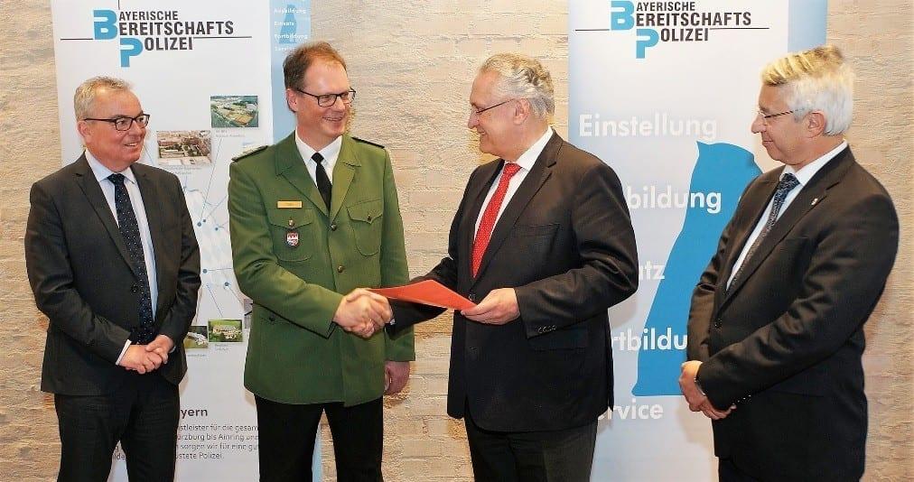 Bereitschaftspolizei Bayern Foto_Amtsuebergabe_an_Detlev_Tolle