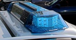 Blaulicht Polizei Blaulichtbalken Polizeifahrzeug