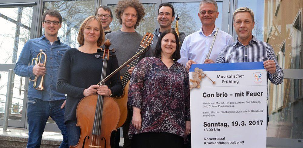 Lehrerkonzert der Musikschule Günzburg