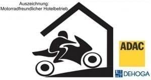 Motorradfreundlicher Betrieb Auszeichnung