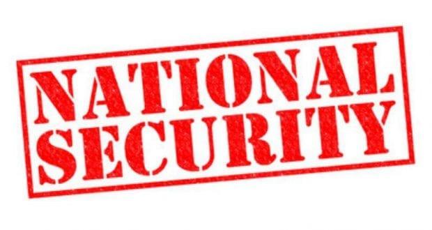 Nationale Sicherheit chrisdorney