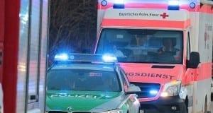 Polizei Rettungswagen Feuerwehr