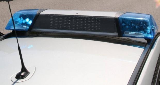 Polizeifahrzeug Blaulicht Neutral