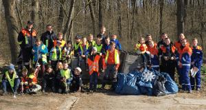 Reisensburg Feuerwehrjugend Umwelteinsatz 2017