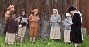 Schwaebisches Bauernmuseumreformation zeitreise