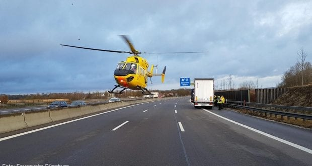 Toedlicher Unfall A8 Leipheim 1