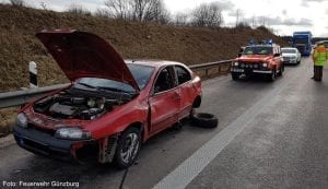 Toedlicher Unfall A8 Leipheim 3