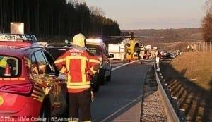 Unfall A8 bei Zusmarshausen am 10032017 1