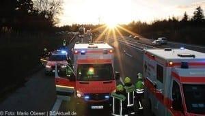 Unfall A8 bei Zusmarshausen am 10032017 10