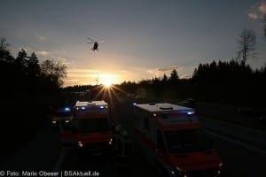 Unfall A8 bei Zusmarshausen am 10032017 12