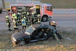 Unfall A8 bei Zusmarshausen am 10032017 3