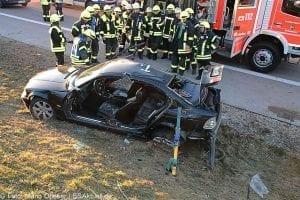 Unfall A8 bei Zusmarshausen am 10032017 4