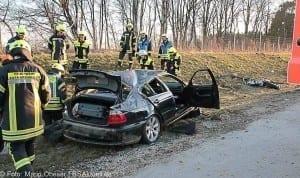 Unfall A8 bei Zusmarshausen am 10032017 5