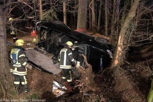 Verkehrsunfall zwischen Neuburg/Kammel und Edelwstetten am 21.03.2017