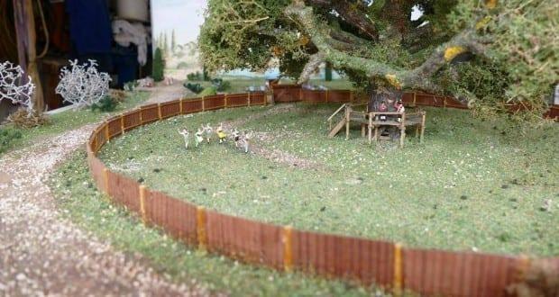 Diorama Alber Kinderfestausstellung