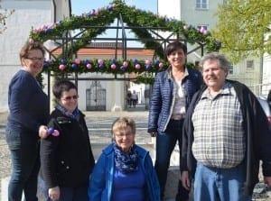 Osterbrunnen in Günzburg 2017