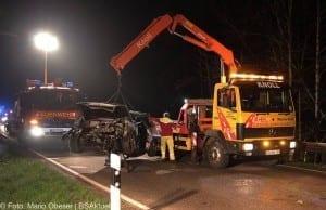 Toedlicher Verkehrsunfall Krumbach Nattenhausen ST2018