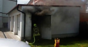 Brand Garage in Guenzburg