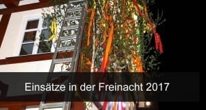Freinacht 2017 in der Region