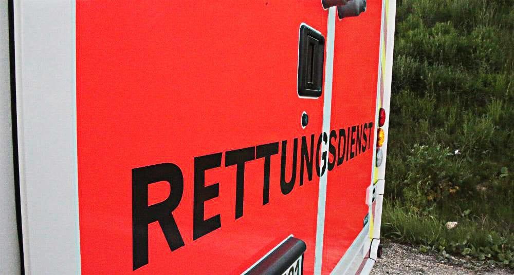 Rettungswagen Heck
