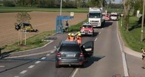 Unfall bei Guenzburg Riedstrasse 160520179