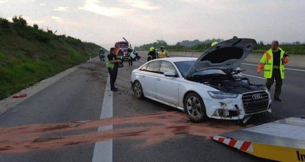 Verkehrsunfall A8 Guenzburg-Leipheim 25052017 3