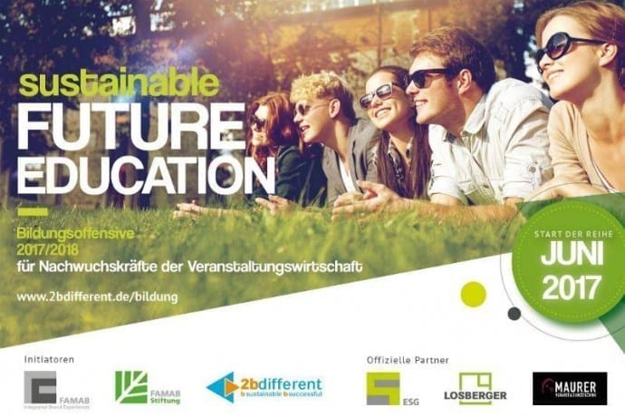sustainable FUTURE EDUCATION. Foto 2bdifferent