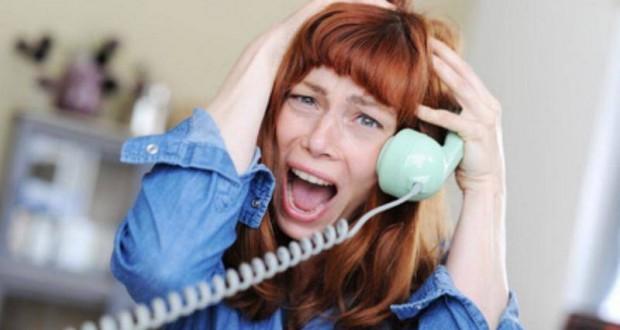 Frau Telefon Telefonieren
