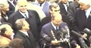 Kohl und Mitterrand in Günzburg