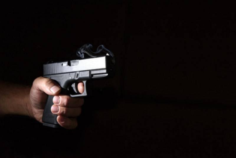 Pistole Schusswaffe