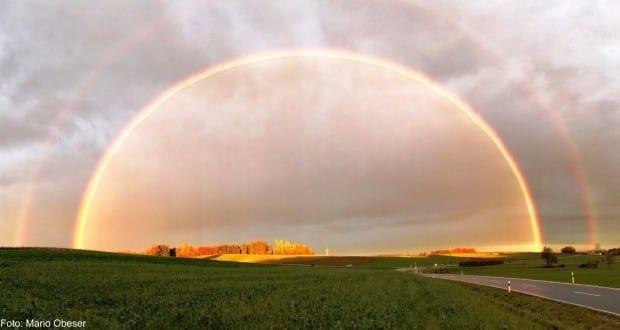 Regenbogen Bibertal