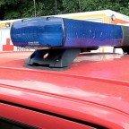 Rettungswagen und Feuerwehrfahrzeug
