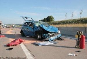 Unfall A8 zwischen Guenzburg-Burgau am 03062017 1