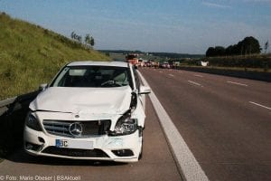Unfall A8 zwischen Guenzburg-Burgau am 03062017 4