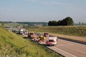 Unfall A8 zwischen Guenzburg-Burgau am 03062017 6
