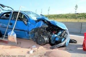 Unfall A8 zwischen Guenzburg-Burgau am 03062017 8