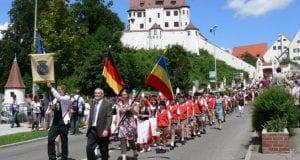 Schnitterreigen Kinderfest Leipheim KinderfestUmzug