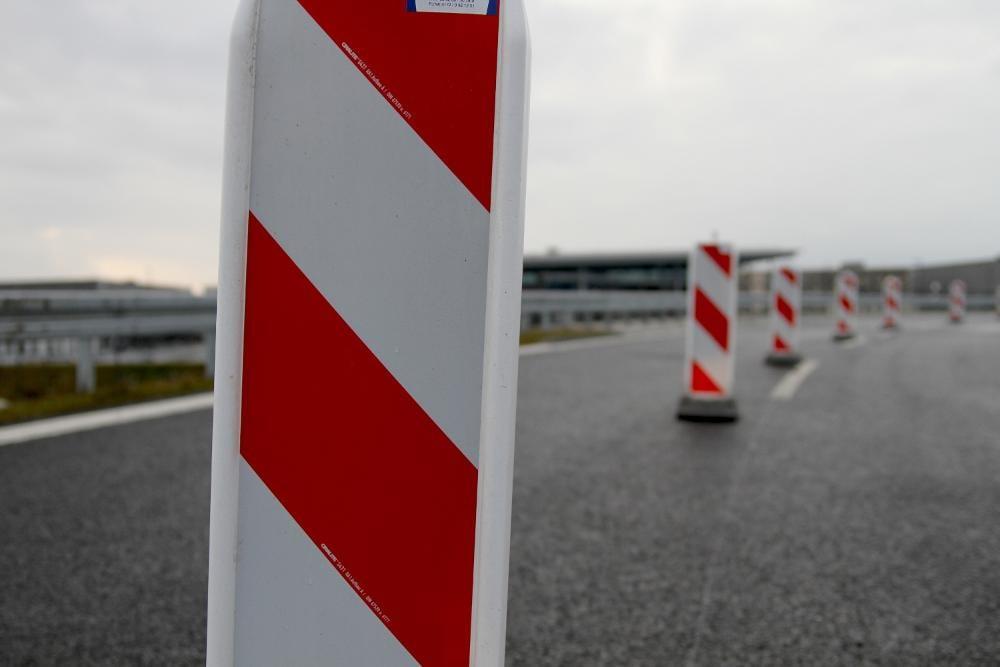 Bau Autobahn