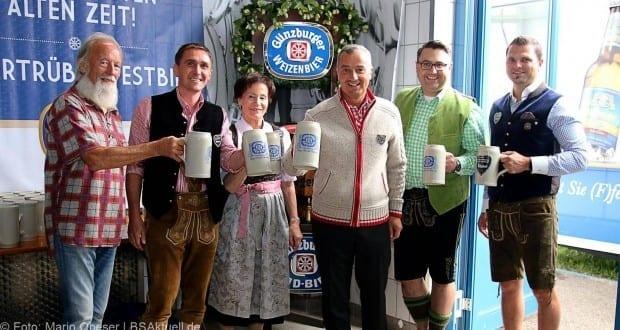 Volksfest Günzburg 2017 - Bierprobe Gruppenfoto