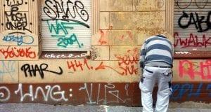 Graffiti-Entfernung durch Maler – dts