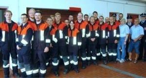 Leistungsabzeichen bei der Feuerwehr Thannhausen
