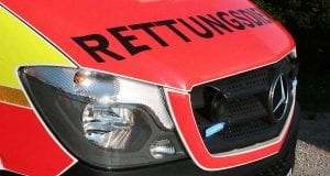 Rettungswagen Retter Front
